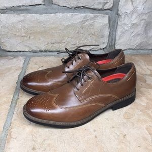 Rockport Shock Absorbent Wing Tip Dress Shoes